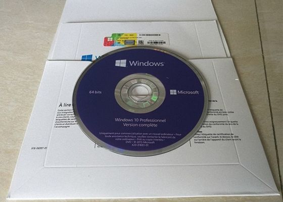 چین Genuine MS Win 10 Pro OEM Sticker Online Activity 64 Bit Bit Life Legal Legal نسخه فرانسه کارخانه